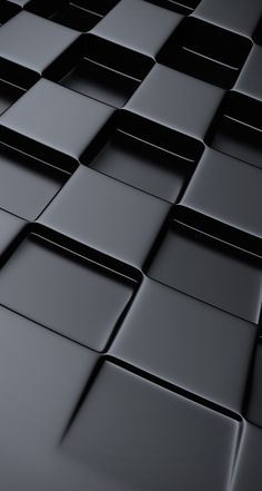 !!TAP AND GET THE FREE APP! UnicolorStylish Geometric Grey Squares 3D Simple HD iPhone 5 Wallpaper
