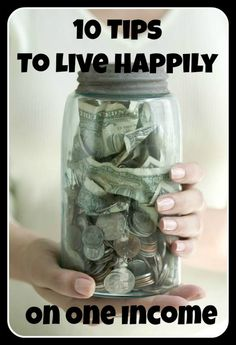 Great ideas for those living on one income
