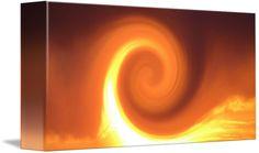 Golden Phoenix Rising 2 by Sherrie Larch