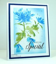 you're special card by Karen Dunbrook