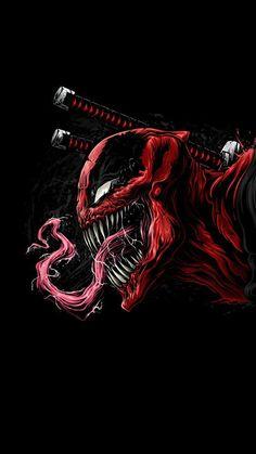 34 marvel, Deadpool, carnege, enemy combination, - Home Deadpool Hd Wallpaper, Avengers Wallpaper, Marvel Venom, Marvel Art, Marvel Heroes, Marvel Dc Comics, Epic Heroes, Deadpool Art, Deadpool Funny