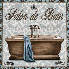 azz Bathroom Prints, Bathroom Art, Vintage Paper, Art Decor, Home Decor, Vintage Bathrooms, Clawfoot Bathtub, Shabby, Wall