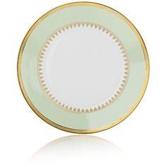 Haviland Oasis Dinner Plate (640 BRL) ❤ liked on Polyvore featuring home, kitchen & dining, dinnerware, multi, green dinnerware, green dinner plates, haviland and haviland dinnerware