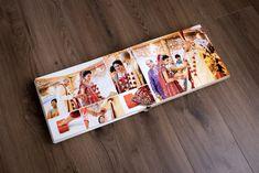 Vijay & Aneeta's Wedding Album | Gingerlime Design | Photo credit  Obsqura Photography | White and gold, Hindu wedding, Phera, Agni Wedding Album Cover, Wedding Album Layout, Wedding Photo Albums, Marriage Photo Album, Indian Wedding Album Design, Photo Album Covers, Peach Wedding Invitations, Wedding Mandap, Wedding Stage