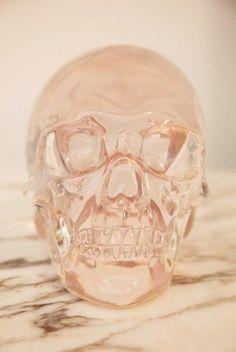 crystal  skull #decor