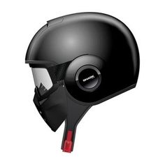 Shark RAW helmet. I am considering this one since it's quite unique as an open face, but still aggressive.