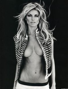 Marisa Miller - she's the first woman to make my RAAWWR board. Good lord, she is amazingly hot.