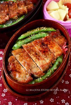 Pork Saute Bento