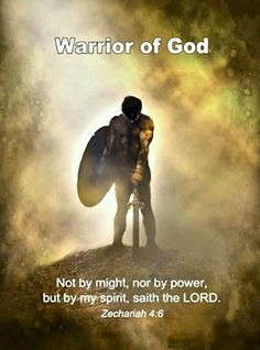 Zechariah Being a warrior for God means praying, having your quiet times then helping others daily. Fighting the battles by praying/letting Jesus take control, using God's word as a shield to battle Satan & standing victorious in the promises of Christ. Christian Warrior, Christian Life, Christian Quotes, Scripture Quotes, Bible Scriptures, Jesus Quotes, Saint Esprit, Armor Of God, Jesus Freak