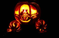 Disney Princess Carriage Pumpkin, from the neighborhood | Flickr - Photo Sharing!