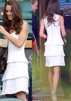 Wimbledon tennis. Princess C steals the show!
