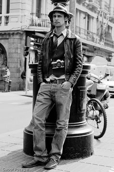 Image result for leaning on street lamp photography