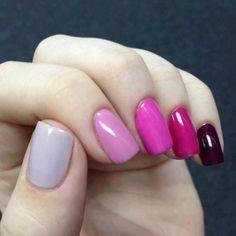 Nail color mixed