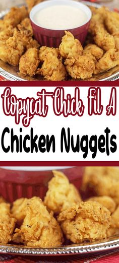 If you are looking for Nuwave Air Fryer recipes, this Chick Fil A Nugget recipe is the first you should try. I was craving nuggets one night and not just any chicken nuggets, I wanted the Chick Fil A Air Fryer Recipes Snacks, Air Fryer Recipes Vegetarian, Air Fryer Recipes Low Carb, Air Fryer Recipes Breakfast, Air Frier Recipes, Air Fryer Dinner Recipes, Air Fryer Recipes Chicken Tenders, Vegetarian Food, Chik Fil A Chicken