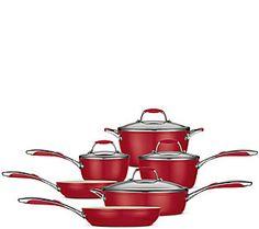 Tramontina Gourmet Ceramica 01 Deluxe 10-Pc Cookware Set