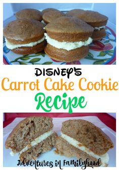 At home recipe for Disney's Carrot Cake Cookie from Hollywood Studios | Disney Inspired Recipes | Walt Disney World | Disney Snacks via @Advinfamilyhood