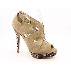 @Overstock - With a sassy look to complement your precocious style, walk with confidence in the fashion forward Turmoil heels from Charles by Charles David. These pumps feature a supple suede upper in a strappy design with stitched overlays, a precious peep toe,...http://www.overstock.com/Clothing-Shoes/Charles-David-Womens-Turmoil-Beige-Dress-Shoes/6758277/product.html?CID=214117 $57.99