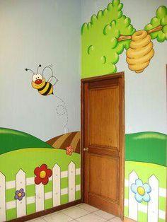 18 Mejores Imagenes De Murales Para Ninos Day Care Preschool Y