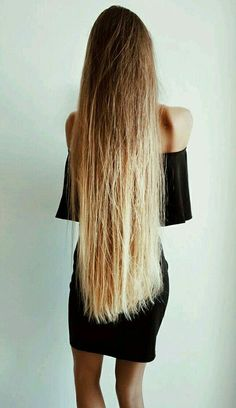 Long Blond, Long Dark Hair, Soft Hair, Shiny Hair, Beautiful Long Hair, Gorgeous Hair, Hair Locks, Super Long Hair, Long Locks