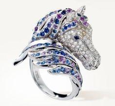 Boucheron horse ring