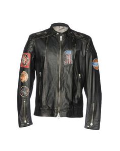 3aee60183f Men Biker Jacket on YOOX. The best online selection of Biker Jackets S. YOOX  exclusive items of Italian and international designers - Secure payments