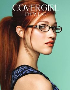 Nicole Fox for CoverGirl Eyewear I Love Redheads, Hottest Redheads, Redheads Freckles, Beautiful Redhead, Beautiful Women, Simply Beautiful, Nicole Fox, Girls With Glasses, Girl Glasses