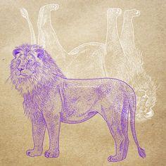 Orie's art【Lion / ライオン】#lionillust #design #動物イラスト #ライオンイラスト #lion #イラスト #デザイン #イラスト #細密画 #絵 #おしゃれイラスト Moose Art, Illustration, Animals, Animales, Animaux, Animal, Illustrations, Animais