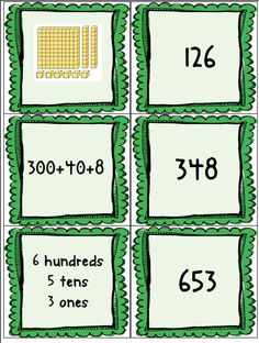 FREE Place Value Concentration