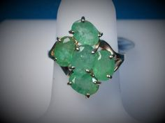 Christmas Is just around the corner! Get this 14K Gold Emerald ... Now before it's gone! http://bestwirejewelry.com/products/14k-gold-emerald-cluster-ring?utm_campaign=social_autopilot&utm_source=pin&utm_medium=pin They'll Love It.