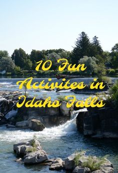 When you're traveling through Idaho Falls, be sure to plan time to explore 10 more fun activities to do in Idaho Falls. There is a lot of fun to be had. Usa Travel Guide, Travel Usa, Travel Tips, Travel Destinations, Budget Travel, Travel Ideas, Fun Activities To Do, Travel Activities, Outdoor Activities