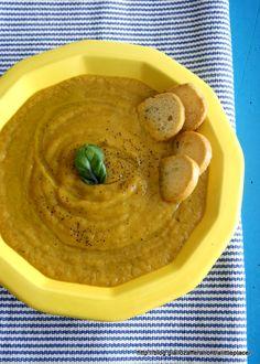 Crema di zucca porri e patate