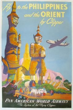 vintage travel posters philippines - Google Search