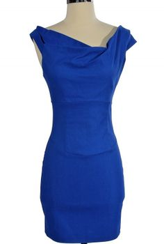 I love this neckline. Website has a lot of pretty dresses that could work for wedding season.
