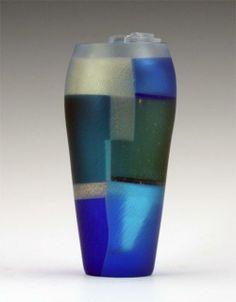 "Takeshi Sano, Sea Castle, 2010, Blown, kiln-worked, cut and polished glass, 4 3/4"" x 4 3/4"" x 8 1/2"""