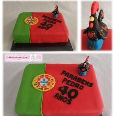 Portugal cake - Cake by Droomtaartjes