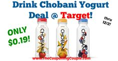 HOT price, has anyone tried these yet? Awesome Deal on Drink Chobani Yogurt Beverage @ Target!  Click the link below to get all of the details ► http://www.thecouponingcouple.com/awesome-deal-on-drink-chobani-yogurt-beverage-target/ #Coupons #Couponing #CouponCommunity  Visit us at http://www.thecouponingcouple.com for more great posts!