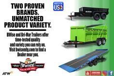 BWise and Bri-Mar Trailers offer time-tested quality and variety you can rely on. Time Tested, Trailers, Canning, Hang Tags, Home Canning, Conservation