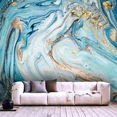 Wallpaper Abstract Ink Wall Art Design art Self Adhesive Wall Art Designs, Paint Designs, Design Art, Vinyl Wallpaper, Photo Wallpaper, Purple Wallpaper, Grandes Photos, Room Wall Painting, Large Photos