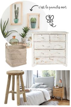 Cozy Fashion, Dresser As Nightstand, Bedroom Ideas, Bedrooms, House Design, Decorations, Interior Design, Architecture, Table