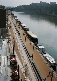 LATZ + PARTNER, Port Rambaud, Lyon  Neugestaltung des ehemaligen Güterhafens