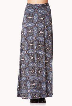 #Forever21                #Skirt                    #Tripper #Maxi #Skirt     Day Tripper Maxi Skirt                              http://www.seapai.com/product.aspx?PID=56757