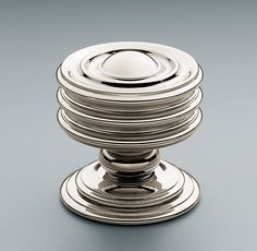 "Maddox Knob from restoration hardware.  For powder room cabinet.  1 1/4"" size in polished chrome.  $15.00 each (retail)"