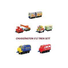 Chuggington 5'li Tren Seti