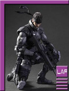 Metal Gear Solid Snake - Play Arts Kai Square Enix