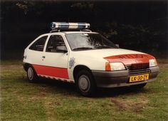 Opel Kadett E Dutch Apeldoorn Police Classic
