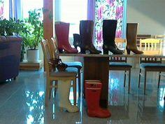 Nokia city rubber boots in garden - 2 5