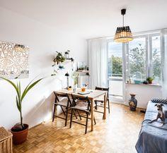 Projekt Kawalerka: Przytulne mieszkanie na Saskiej Kępie