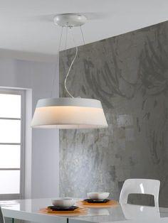 Colgante Swing LED Blanco. 3 tamaños  SCHULLER.