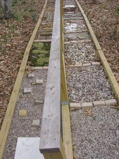 The Reflexology Path was inspired by one at the home of Labyrinth caretaker Melanie. It is 34 feet long and has a variety of surfaces to walk on. The hand rail down the center adds security and stability to your walk.