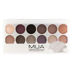 MUA Romantic Efflorescence Palette paleta očních stínů - Makeupshop.cz